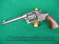 COLT MODEL 1901 MILITARY D.A. 38 REVOLVER  Guns > Pistols > Colt Double Action Revolvers- Pre-1945