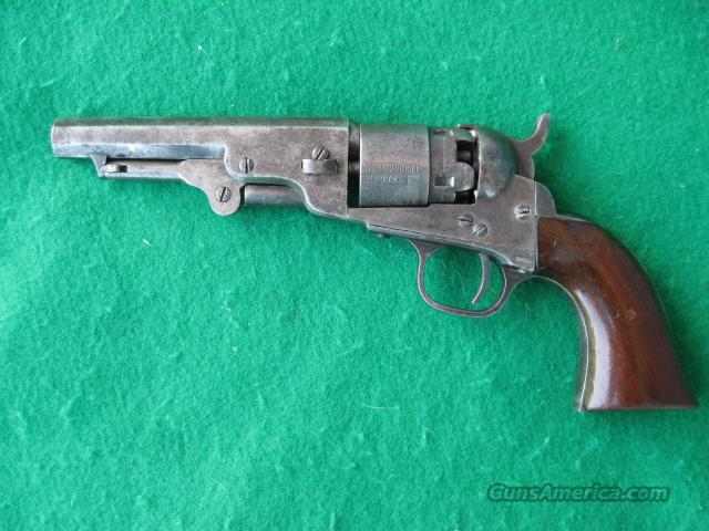 "COLT MODEL 1862 POCKET NAVY PERCUSSION REVOLVER 36CAL. 4 1/2"" NICE!  Guns > Pistols > Colt Percussion Revolver - Pre-1899"