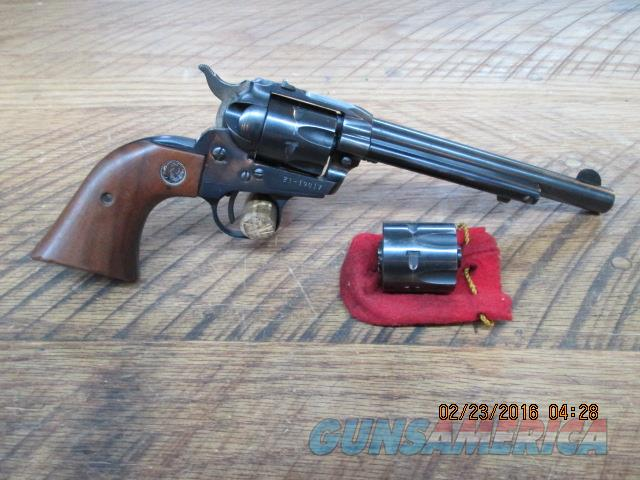 RUGER 3-SCREW SINGLE SIX CONVERTIBLE 22 / 22MAGNUM 6 SHOT REVOLVER 90% PLUS ORIG.COND.  Guns > Pistols > Ruger Single Action Revolvers > Single Six Type