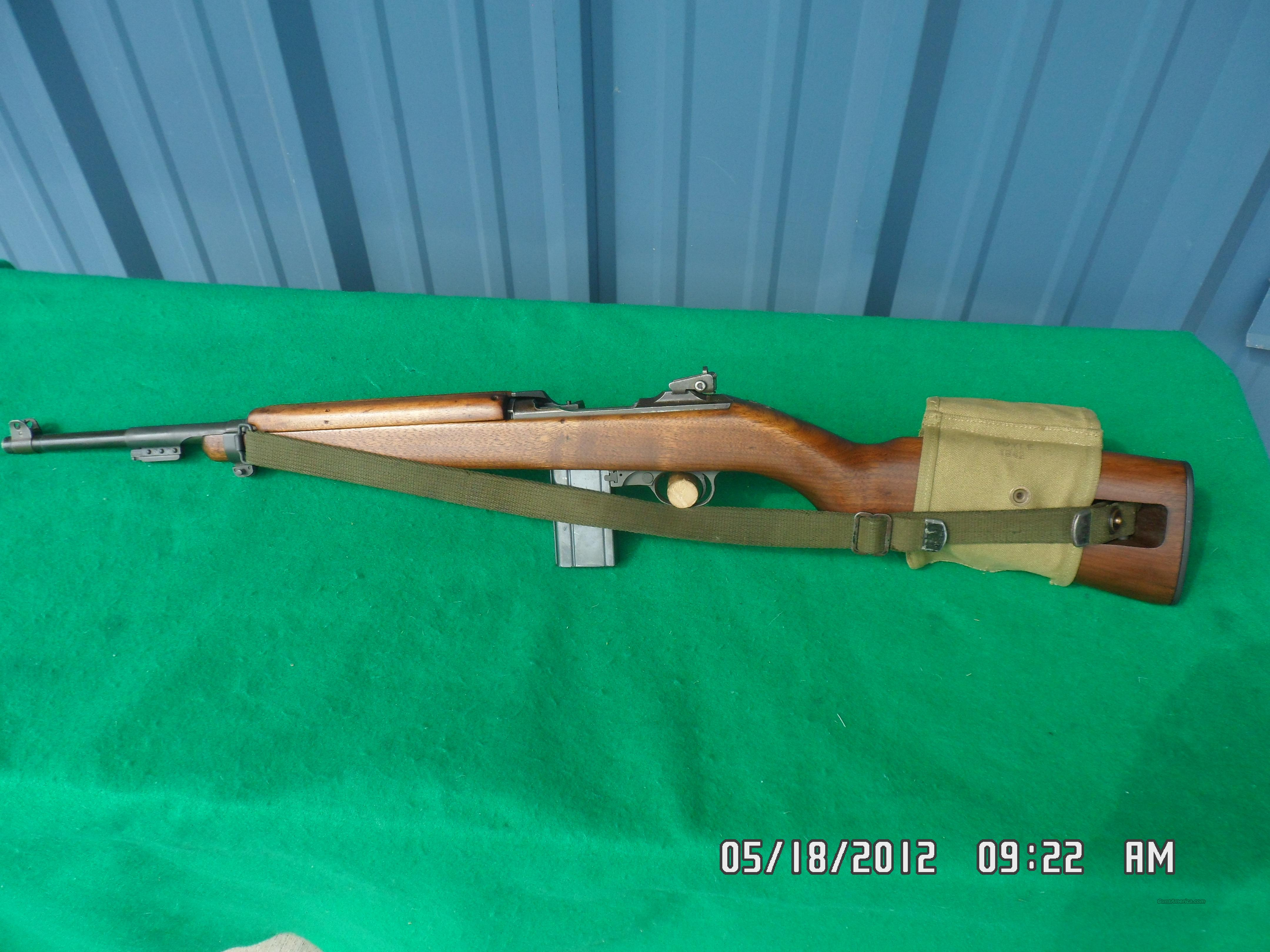 WINCHESTER USGI  ORIGINAL 30 M1 CARBINE 1944 30 M1 CAL. 98% PLUS!  Guns > Rifles > Winchester Rifles - Modern Bolt/Auto/Single > Autoloaders