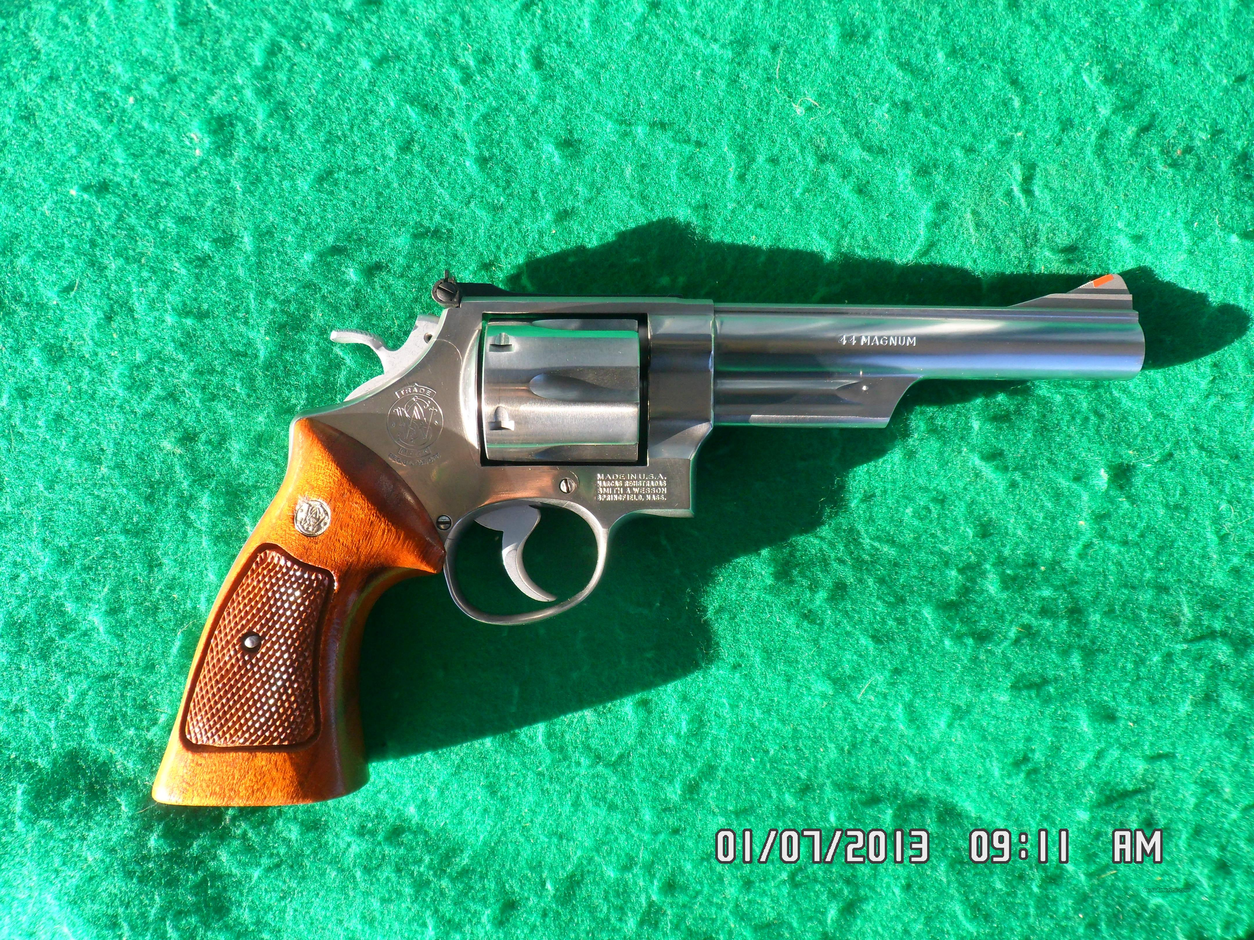 SMITH & WESSON MODEL 629-1 STAINLESS REVOLVER 44 MAG. EARLY 1980'S 99% CONDITION!  Guns > Pistols > Smith & Wesson Revolvers > Model 629