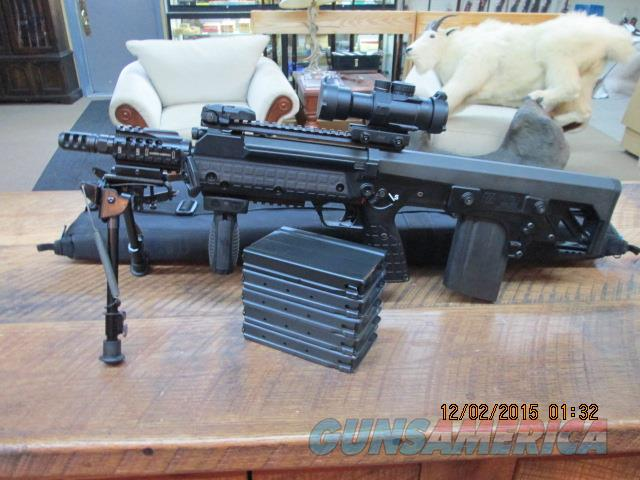 KEL-TEC MODEL RFB TACTICAL 7.62 NATO (308) RIFLE,UNFIRED WITH SCOPE AND 6 MAGS.  Guns > Rifles > Kel-Tec Rifles