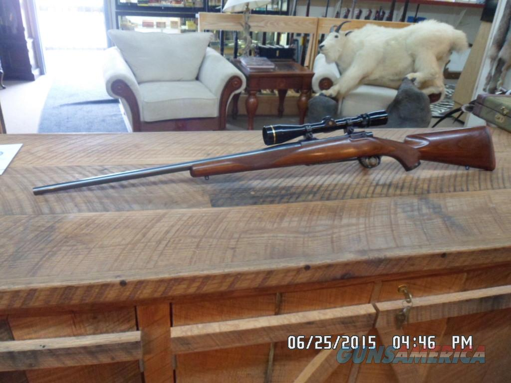 RUGER 1976 MODEL 77 338 WIN.MAG. BOLT RIFLE,LEUPOLD ALL 99% OVERALL  Guns > Rifles > Ruger Rifles > Model 77
