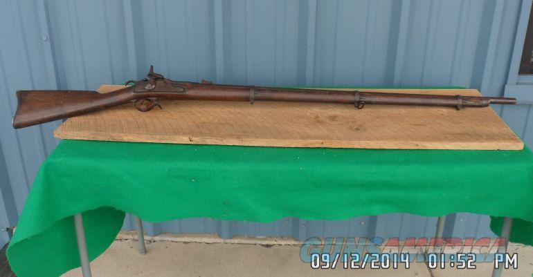 SPRINGFIELD ROBERTS PAT. MODEL 1861 / 1863 RIFLE MUSKET CONVERSION VERY RARE .58CF  Guns > Rifles > Antique (Pre-1899) Rifles - Ctg. Misc.