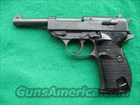 WALTHER P-38 WW II PISTOL (RUSSIAN CAPTURED X MARKED )9MM  Walther Pistols > Post WWII > P-38