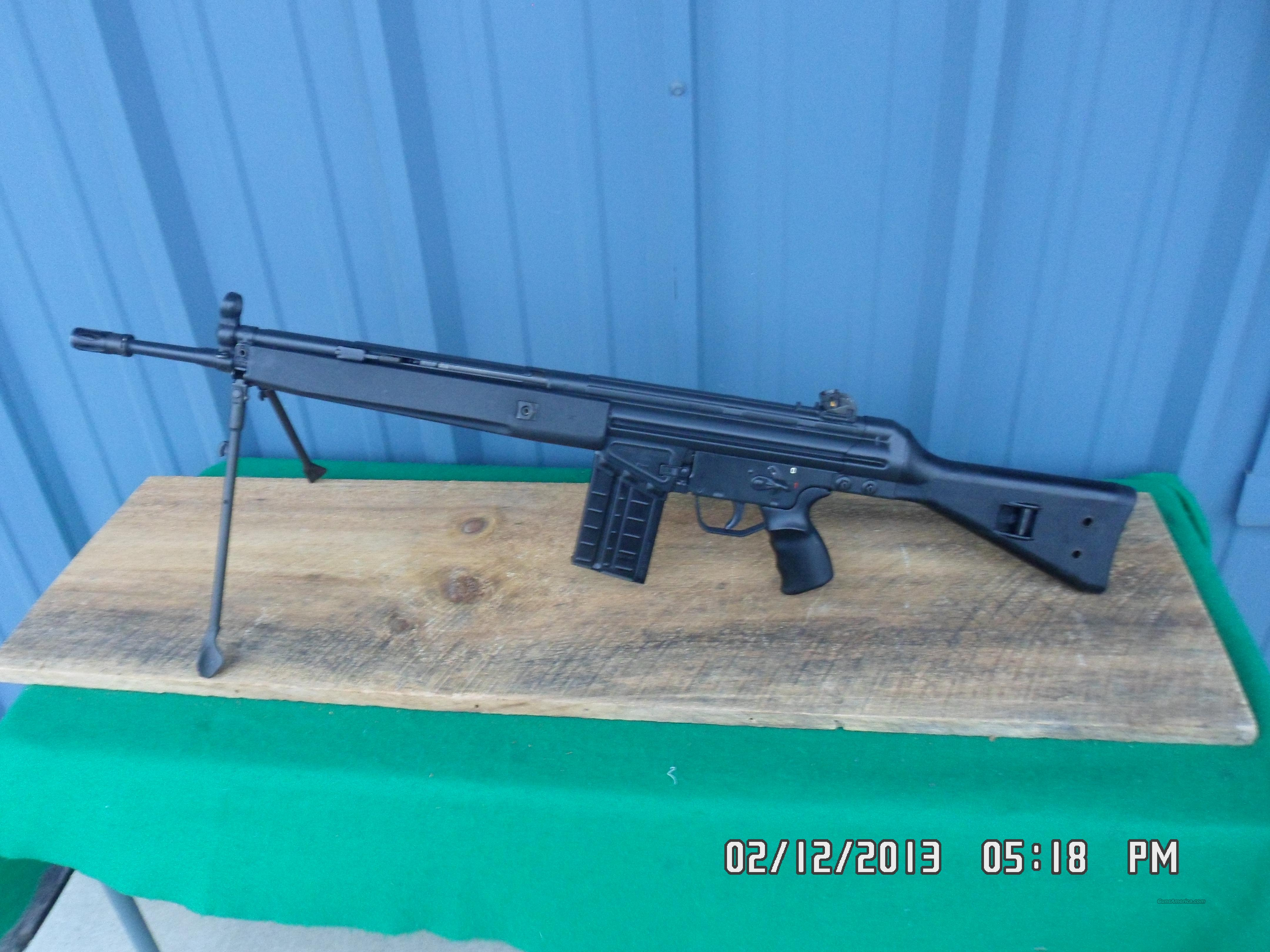 H & K MODEL 91 - A2 SEMI-AUTO MILITARY RIFLE,308 CALIBER,99% FACTORY CONDITION!  Guns > Rifles > Heckler & Koch Rifles > Tactical