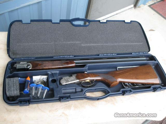 BERETTA 686 SILVER PIGEON  S  OVER/UNDER SHOTGUN 410 GA, 99% CASED!  Guns > Shotguns > Beretta Shotguns > O/U > Hunting