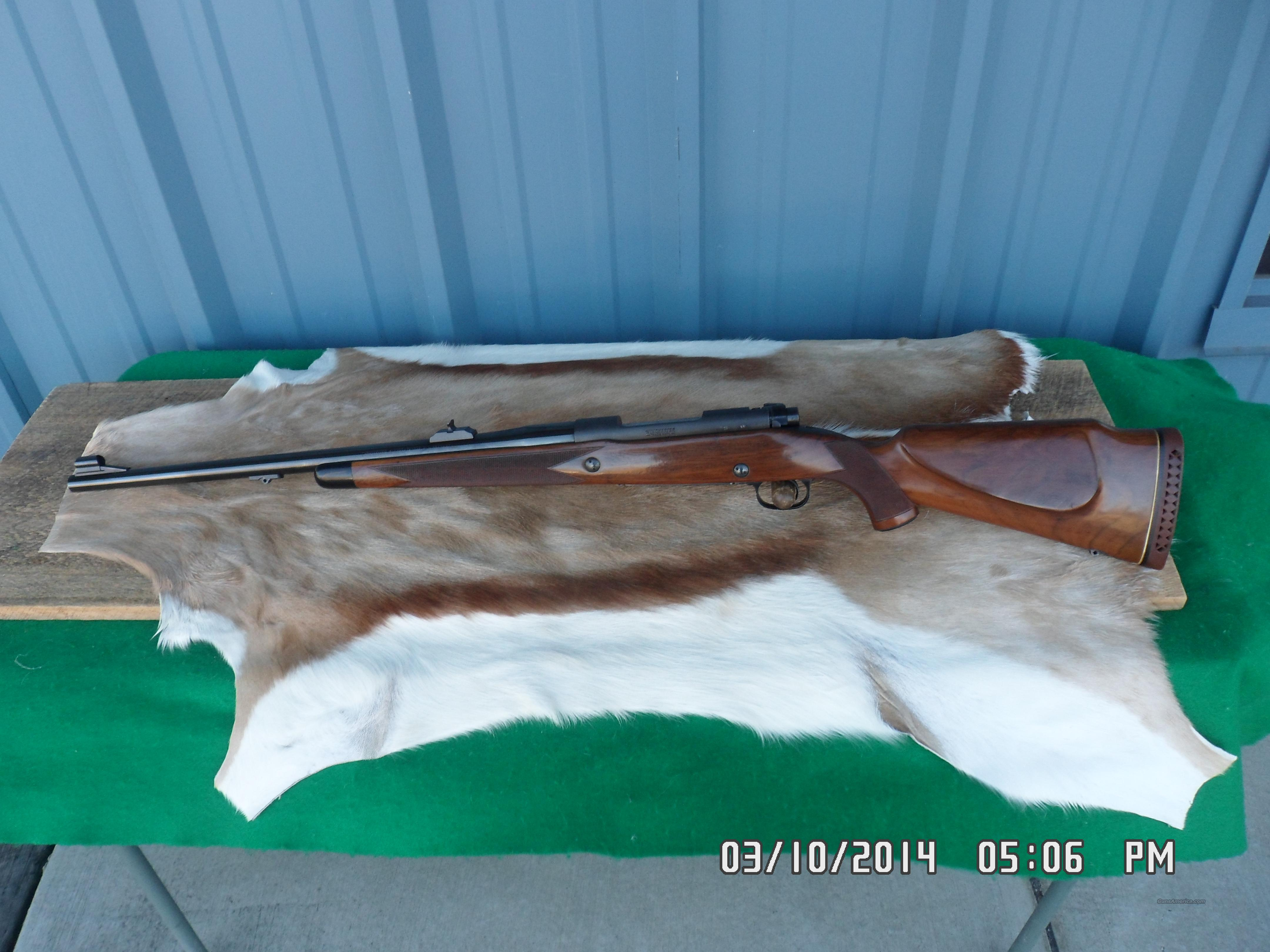 WINCHESTER POST-64 MODEL 70 SUPER GRADE 458 WIN.99% LOOKS UN-FIRED!  Guns > Rifles > Winchester Rifles - Modern Bolt/Auto/Single > Model 70 > Post-64