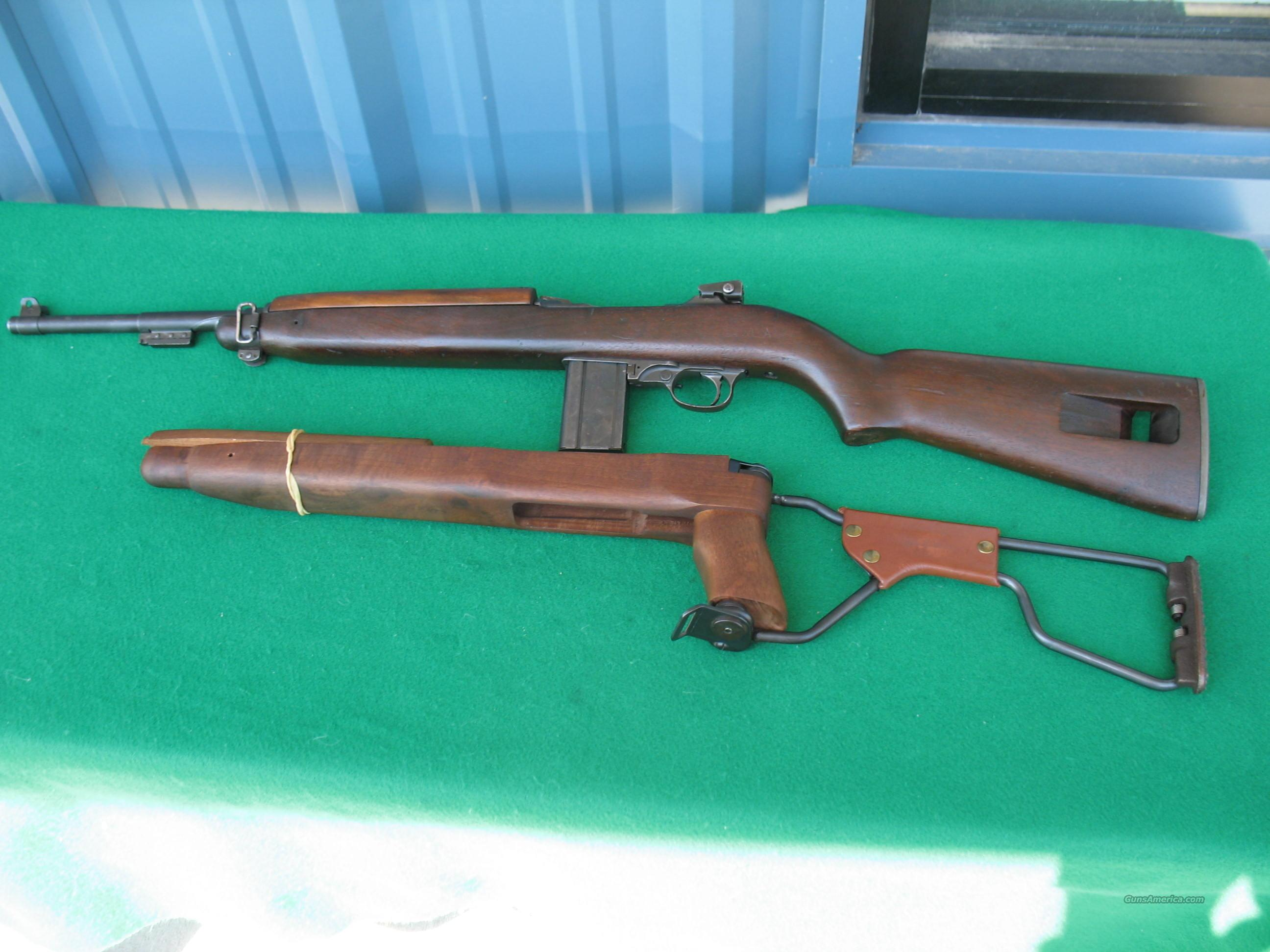 INDLAND M1 CARBINE 30 M1 CAL. W/ FOLDING STOCK  Guns > Rifles > Military Misc. Rifles US > M1 Carbine