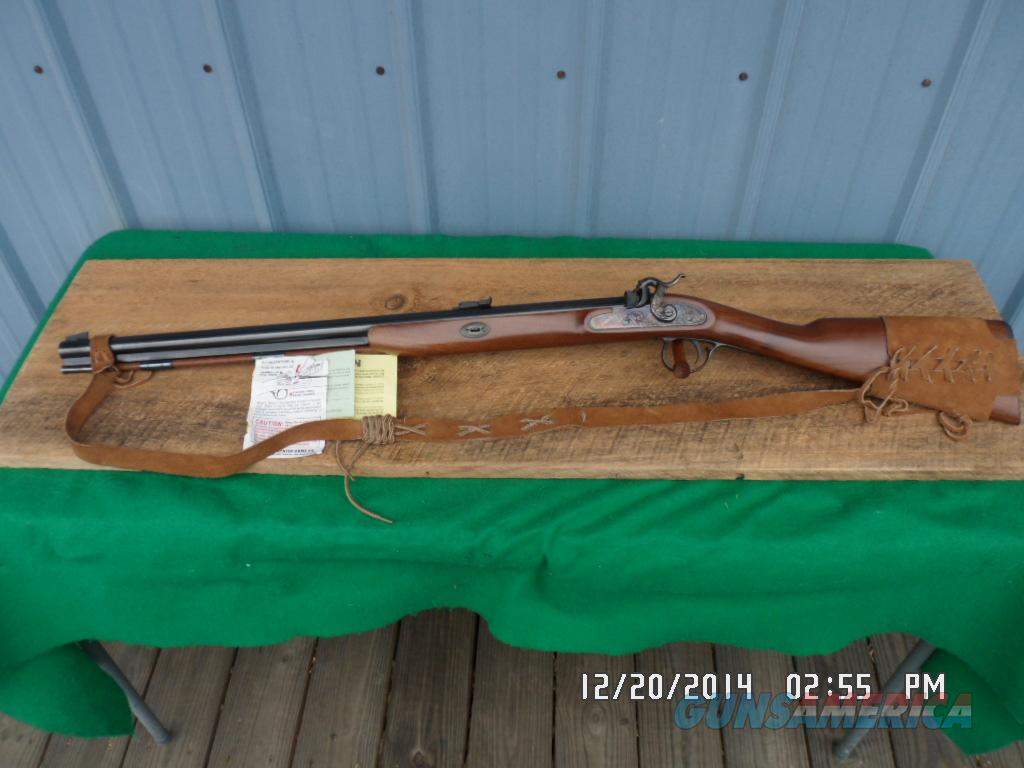 "THOMPSON CENTER 1984 ""NEW ENGLANDER"" 54 CAL.BP ""RARE"" LEFT HAND VERSION MUZZELOADING RIFLE IN 99.5% UNFIRED ORIG.CONDITION. W/PAPERWORK  Guns > Rifles > Thompson Center Muzzleloaders > Hawken Style"
