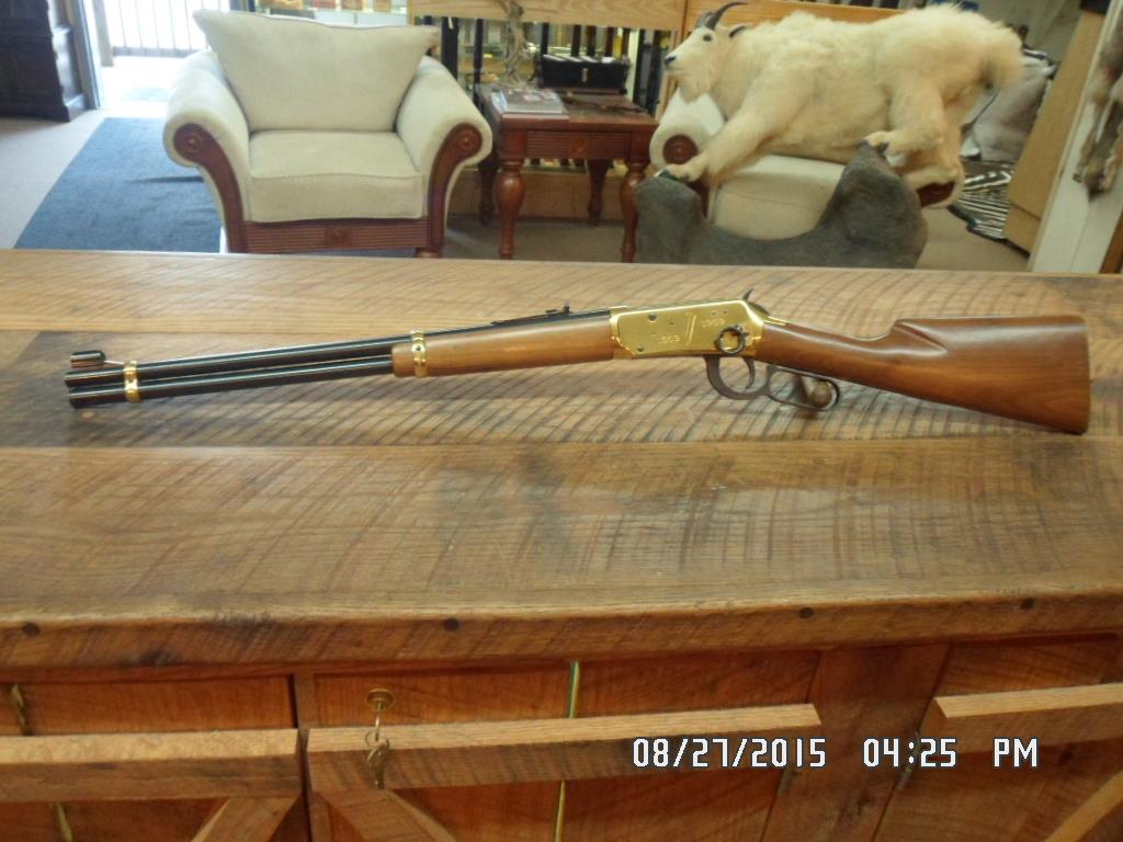 WINCHESTER 1969 GOLDEN SPIKE COMMEMORATIVE 30-30 SADDLE RING CARBINE UNFIRED NO BOX OR PAPERWORK.  Guns > Rifles > Winchester Rifle Commemoratives