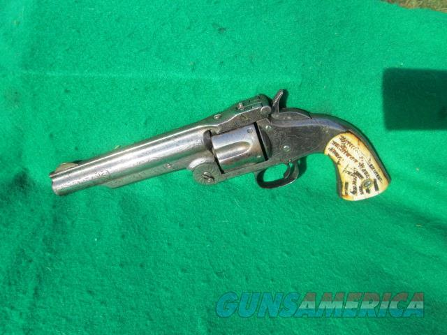 SMITH AND WESSON # 3 2ND MODEL .44 CAL  ENGRAVED   Guns > Pistols > Smith & Wesson Revolvers > Pre-1899