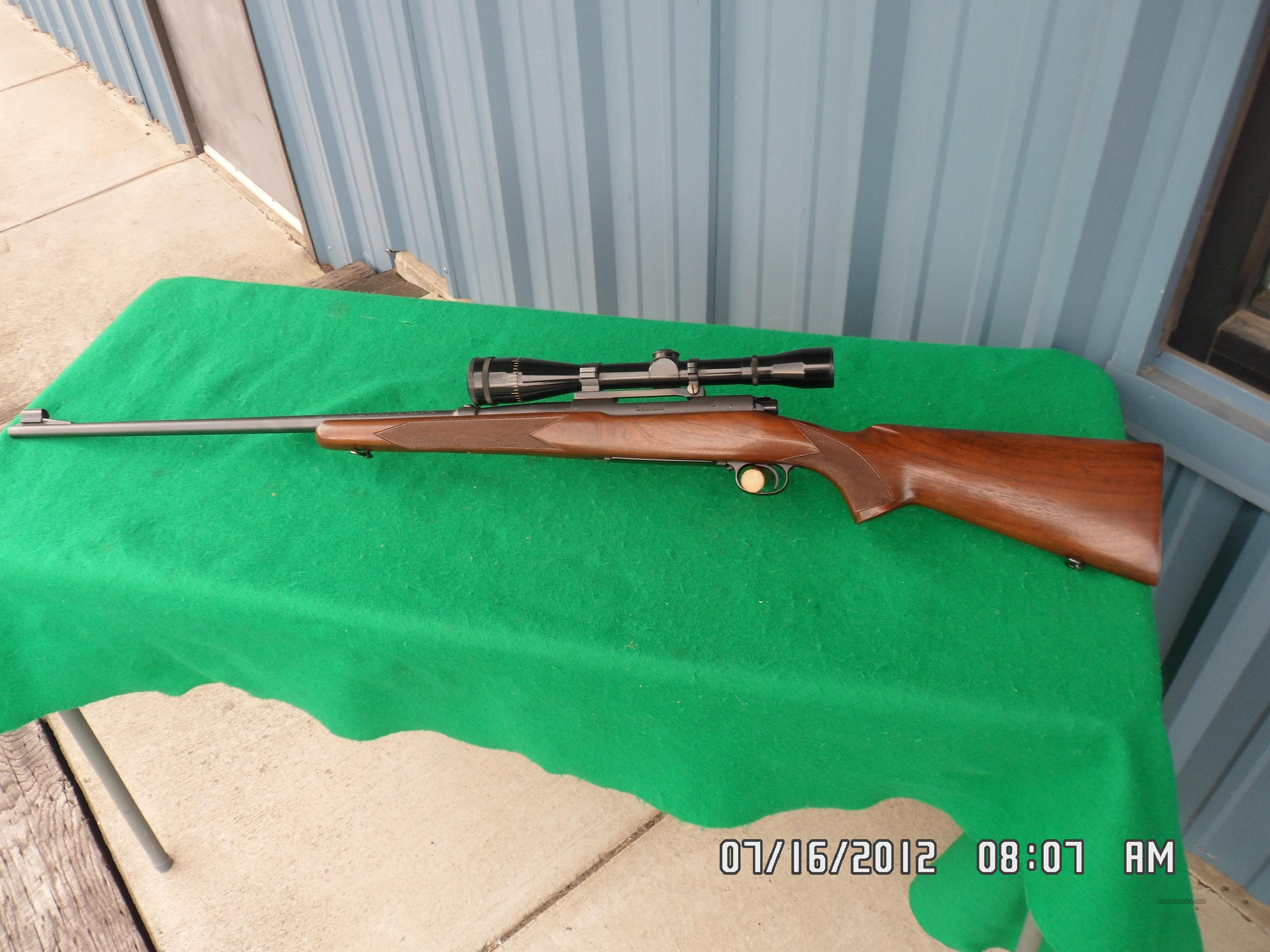 WINCHESTER MODEL 70 STANDARD GRADE 220 SWIFT CAL.1950 ORIGINAL OWNER SIGHTED IN ONLY! 99.5%PLUS  Guns > Rifles > Winchester Rifles - Modern Bolt/Auto/Single > Model 70 > Pre-64