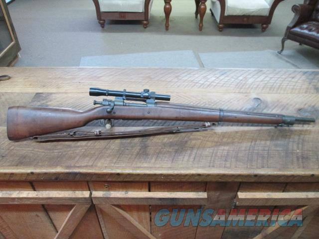 REMINGTON 03A4 SNIPER CIRCA 1943  WWII WITH SCOPE   Guns > Rifles > Remington Rifles - Modern > Bolt Action Non-Model 700 > Tactical