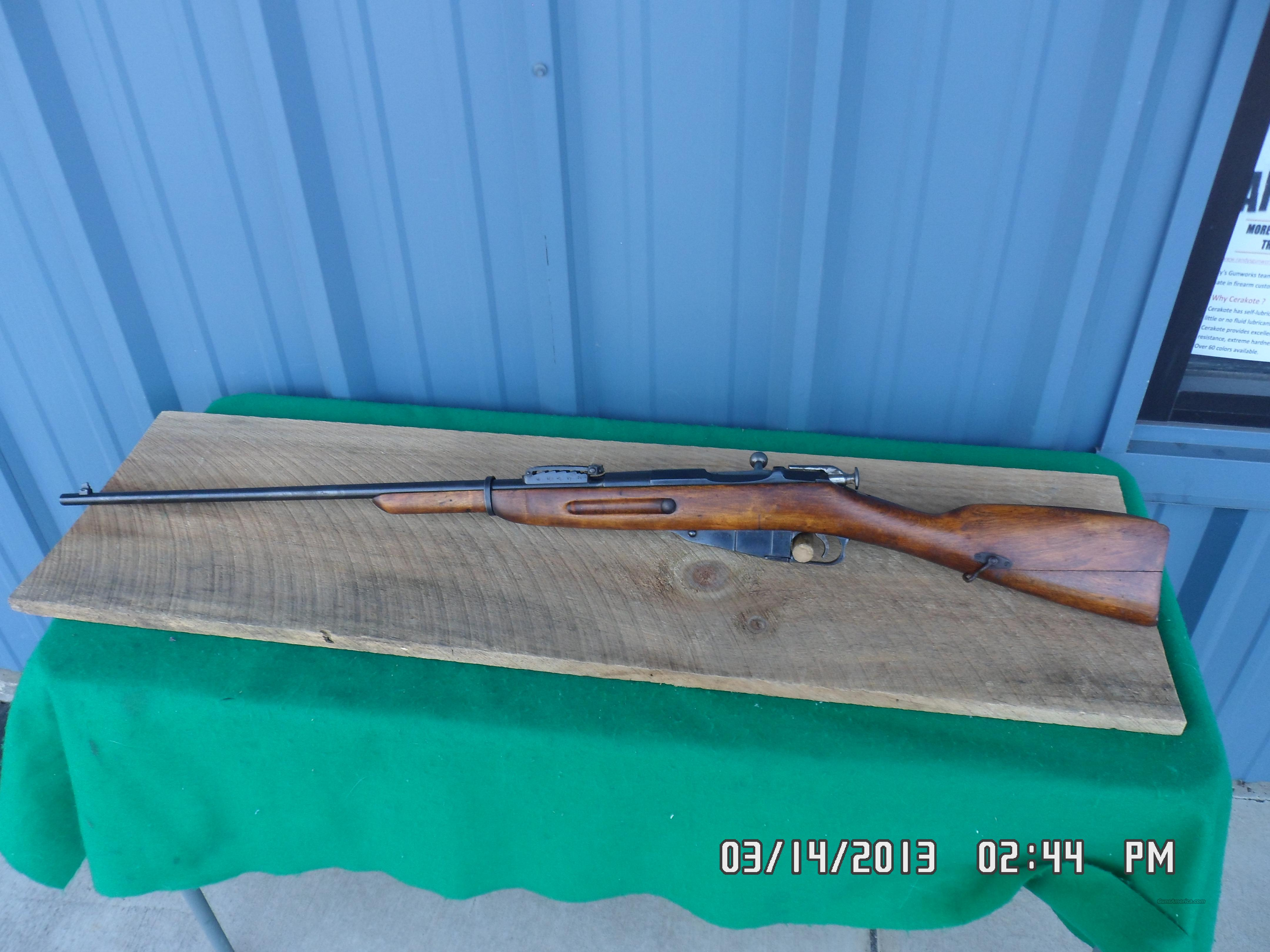 RUSSIAN 1891 MOSIN NAGANT SPORTER RIFLE 7.62X54R 80% OVERALL.  Guns > Rifles > Mosin-Nagant Rifles/Carbines