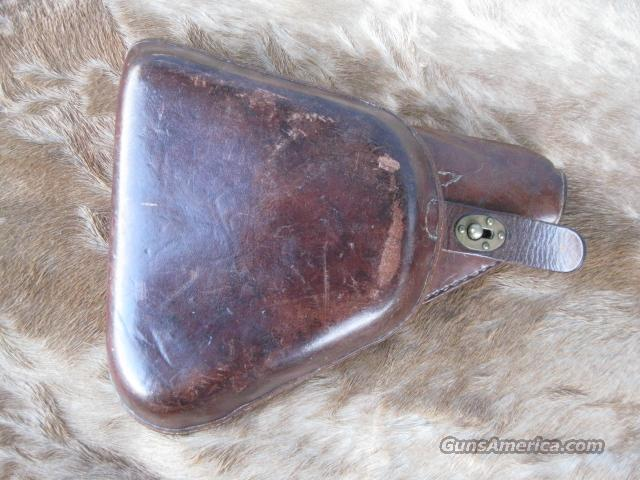 JAPANESE NAMBU MILITARY TYPE 14 HOLSTER VERY GOOD CONDITION!  Non-Guns > Holsters and Gunleather > Military