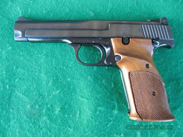 "Smith and Wesson Model 41, 22LR, 5"" Barrel  Guns > Pistols > Smith & Wesson Pistols - Autos > Steel Frame"
