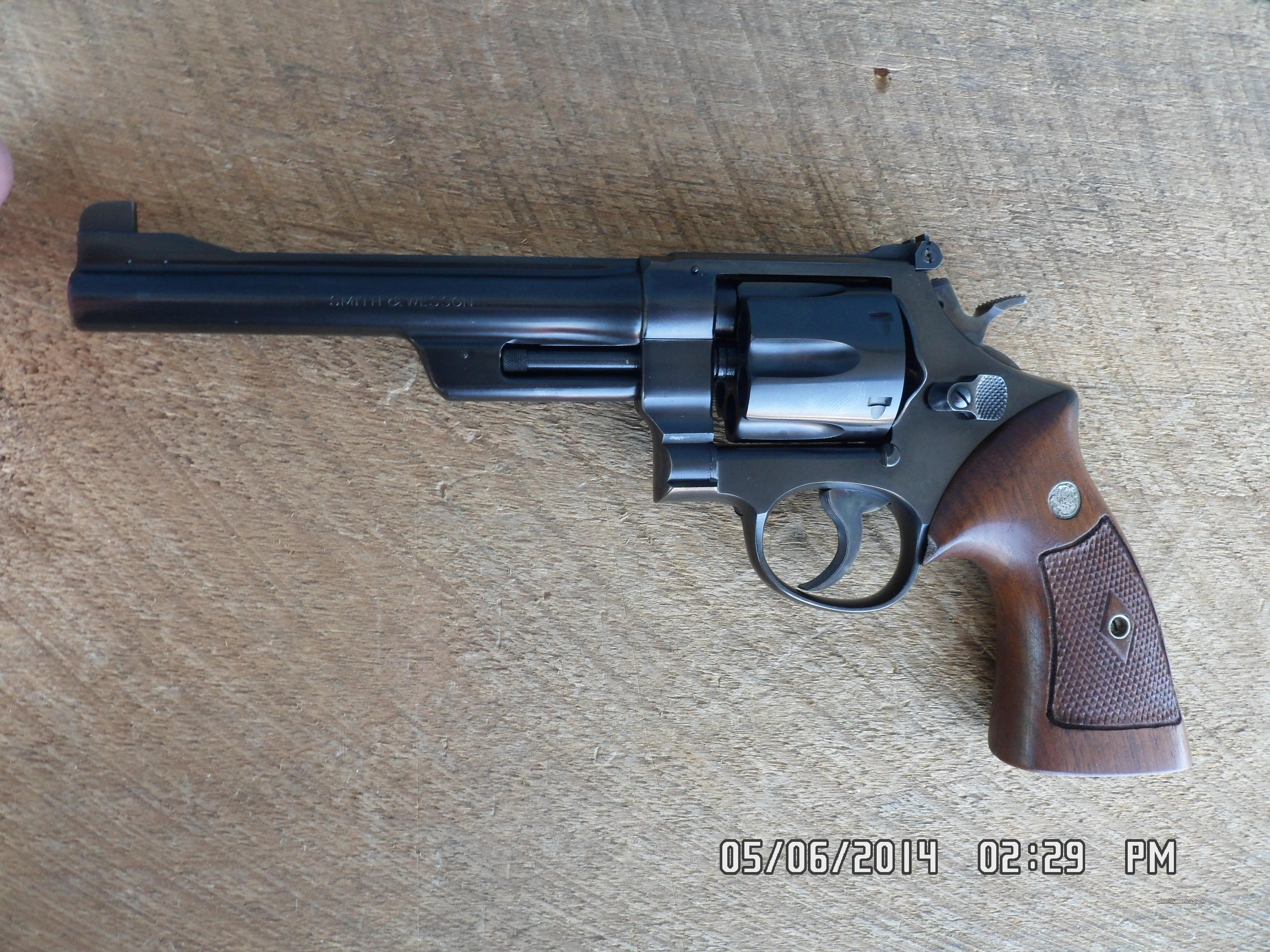 SMITH & WESSON MODEL 1950 (.44 TARGET 4TH MODEL) .44 S&W SPECIAL REVOLVER 98% PLUS ORIGINAL 1953 CONDITION.  Guns > Pistols > Smith & Wesson Revolvers > Full Frame Revolver