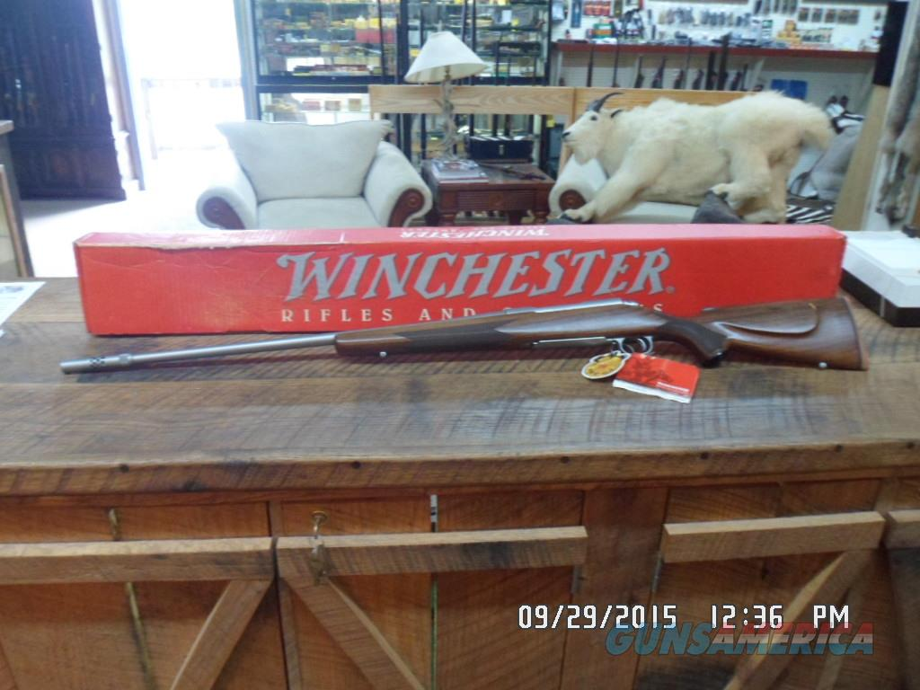 WINCHESTER (MFG 1996-1997 ONLY) CLASSIC STAINLESS BOSS 300 WIN.MAG.DELUXE RIFLE NIB W/ALL PAPERWORK.  Guns > Rifles > Winchester Rifles - Modern Bolt/Auto/Single > Model 70 > Post-64