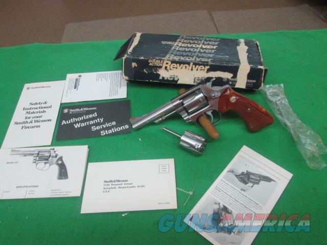 "SMITH & WESSON MODEL 651 1ST MODEL RUN RARE 4"" EXTRA CYLINDER   Guns > Pistols > Smith & Wesson Revolvers > Small Frame ( J )"