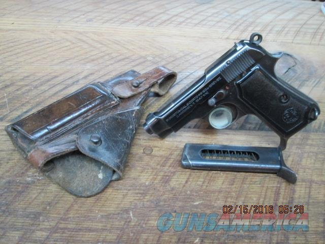 BERETTA MODEL 1934 WWII ERA PISTOL 380 ACP CALIBER,ORIG.HOLSTER AND 2 FACTORY MAGS.  Guns > Pistols > Beretta Pistols > Rare & Collectible