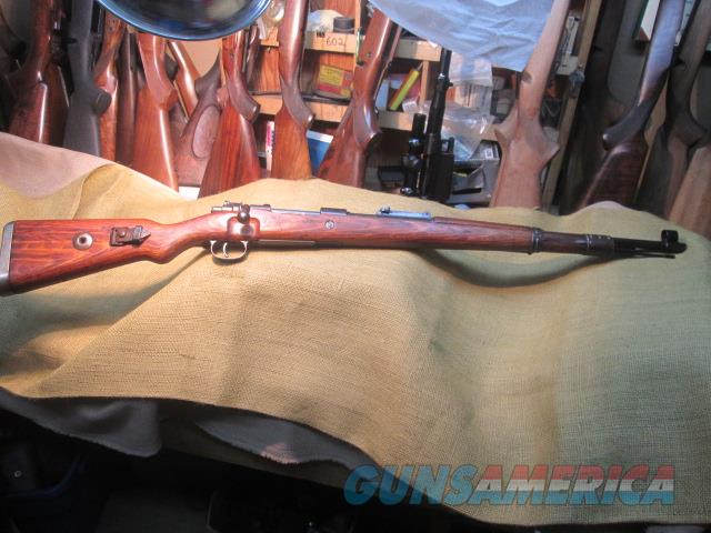GERMAN 98K WWII RIFLE BED4 CODE 8MM MAUSER ALL MATCHING ORIGINAL MILITARY   Guns > Rifles > Military Misc. Rifles Non-US > Other