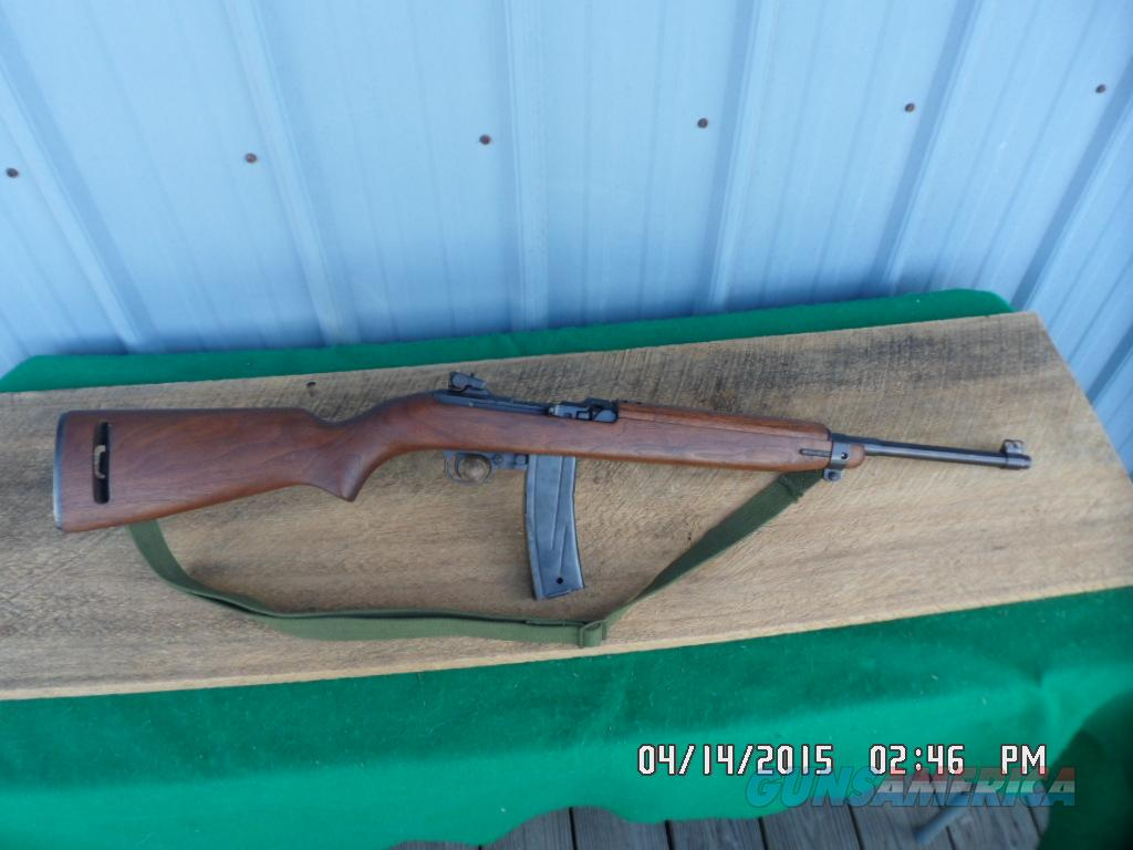 UNIVERSAL 30M1 CARBINE WALNUT STOCKED NICE CONDITION.  Guns > Rifles > Military Misc. Rifles US > M1 Carbine