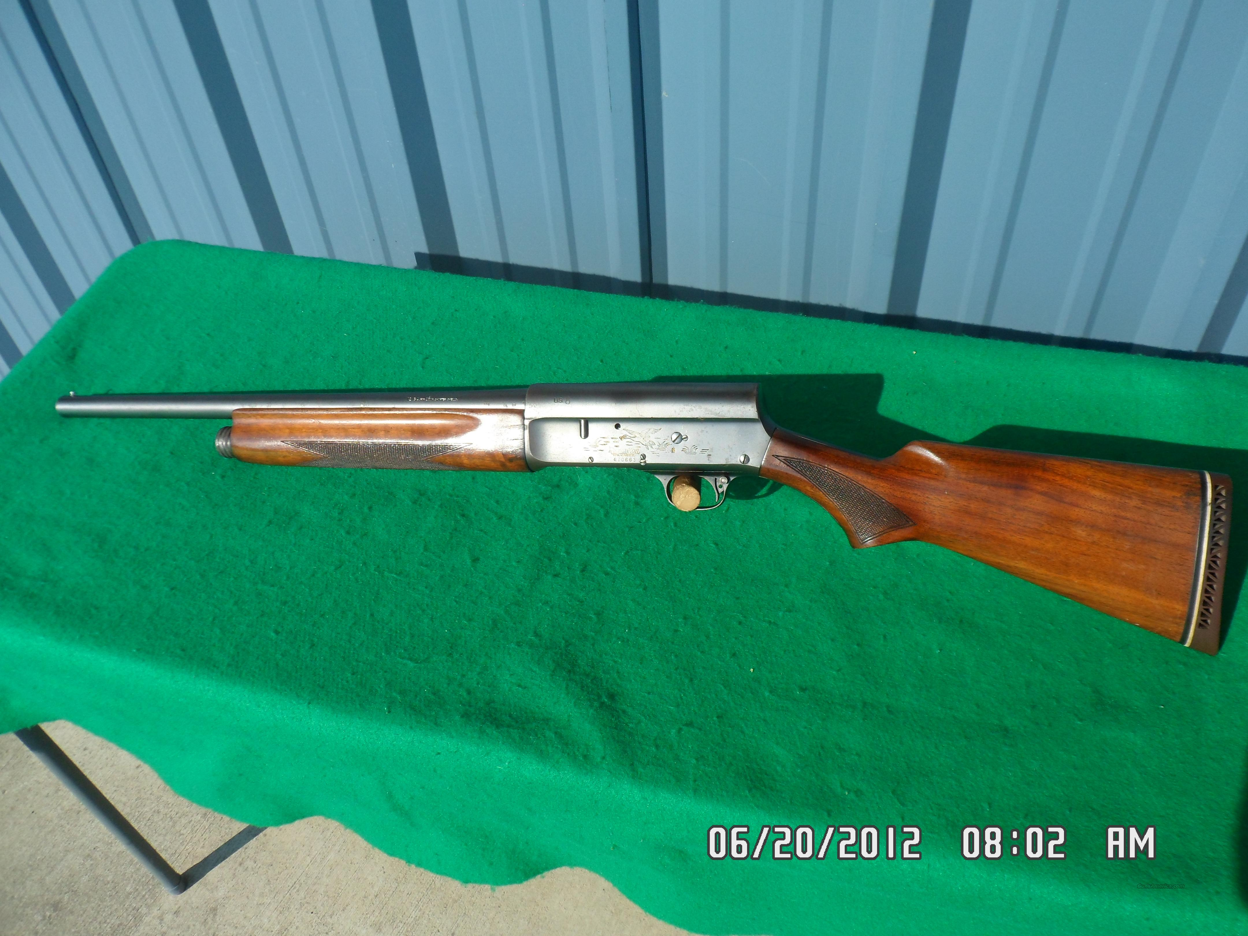 REMINGTON MODEL 11 U.S.MILITARY ORIGINAL RIOT SHOTGUN 12 GA. NOV/1942 95%  Guns > Shotguns > Military Misc. Shotguns US