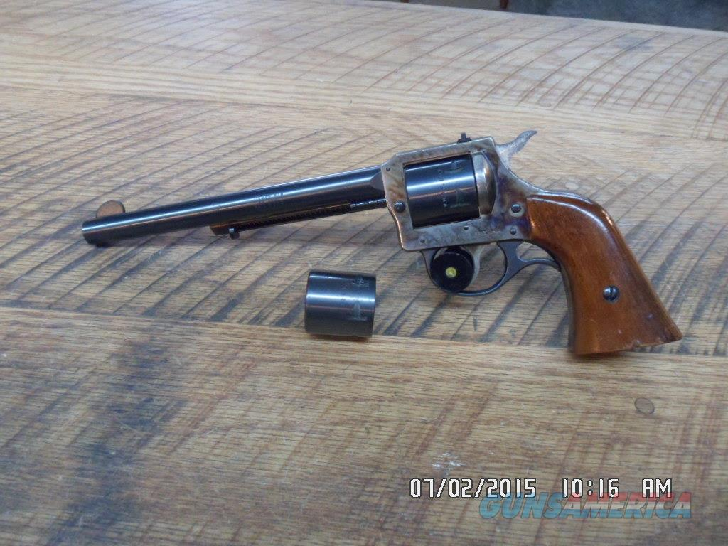 H & R MODEL 676 CONVERTIBLE 22 L.R. & 22 MAG.DOUBLE ACTION REVOLVER 95% OVERALL  Guns > Pistols > Harrington & Richardson Pistols