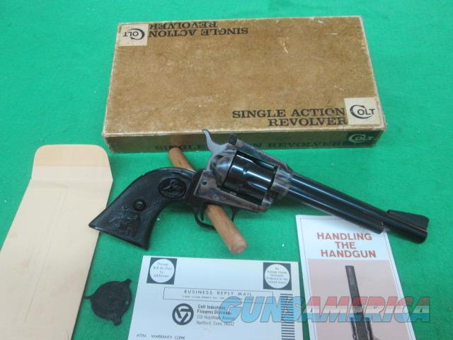 COLT NEW FRONTIER .22LR ^' COLLECTOR UNFIRED IN BOX   Guns > Pistols > Colt Single Action Revolvers - Modern (22 Cal.)