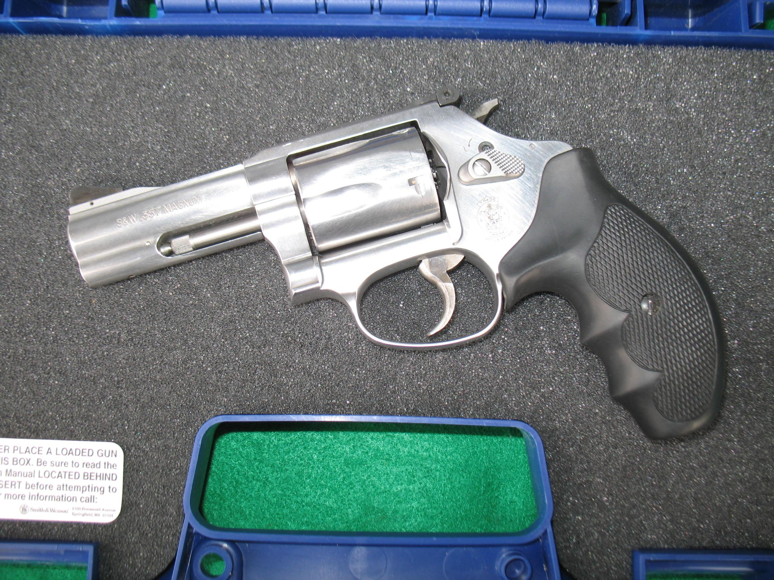 "SMITH & WESSON 60-15 STAINLESS REVOLVER 357 MAG. 3"" BARREL  Guns > Pistols > Smith & Wesson Revolvers > Full Frame Revolver"