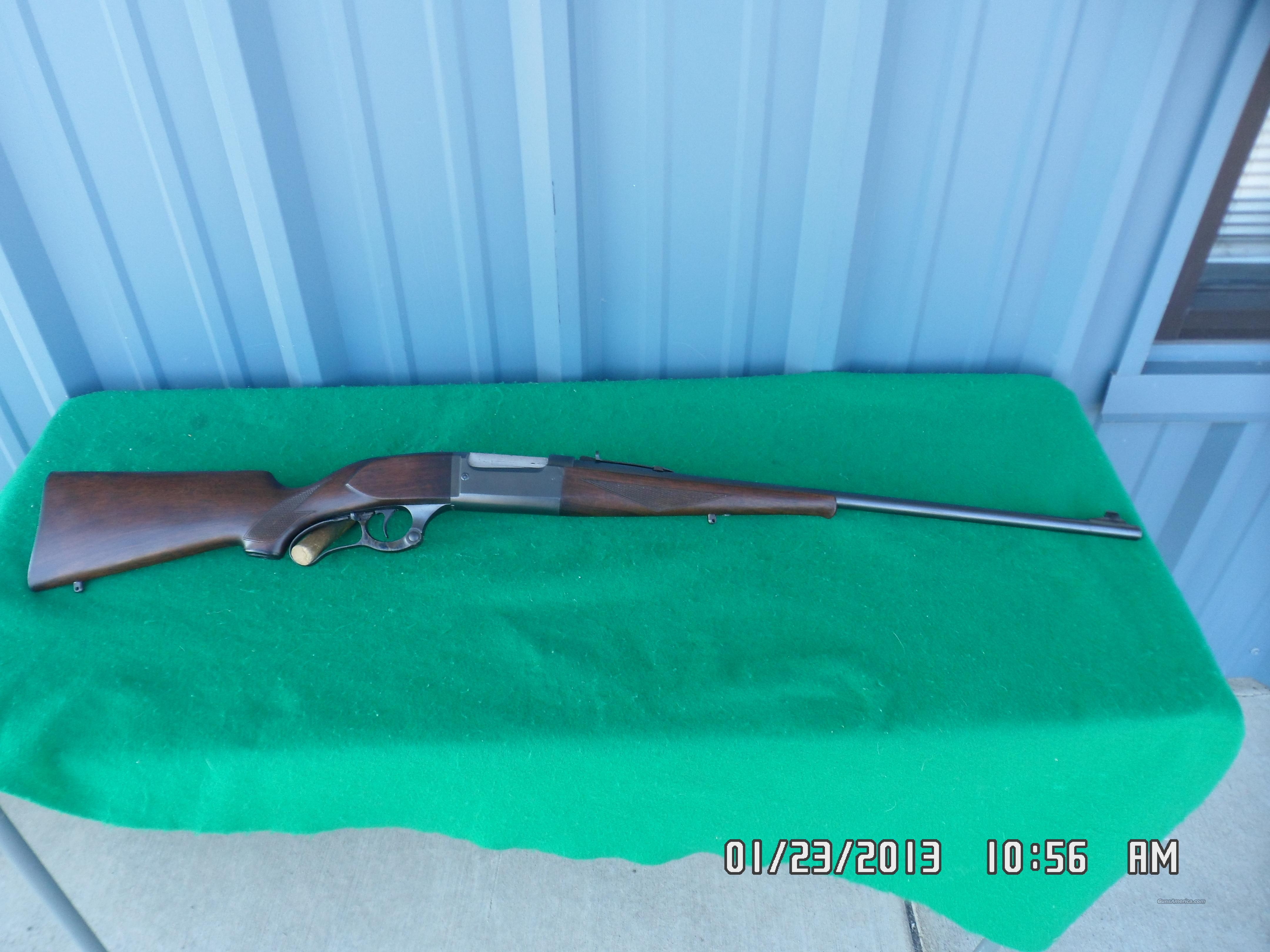SAVAGE MODEL 99 EG LEVER RIFLE,CIRCA 1946,300 SAV.CAL. 97% OVERALL!  Guns > Rifles > Savage Rifles > Model 95/99 Family