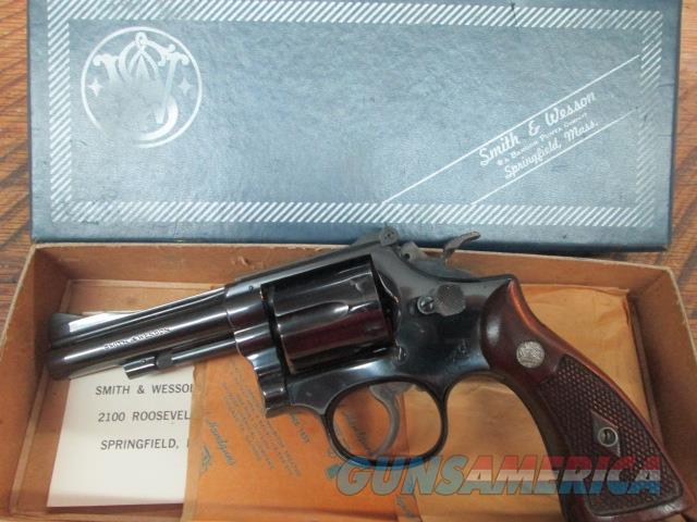 SMITH & WESSON MODEL 15 38 S&W 1959 MFG. REVOLVER   Guns > Pistols > Smith & Wesson Revolvers > Med. Frame ( K/L )