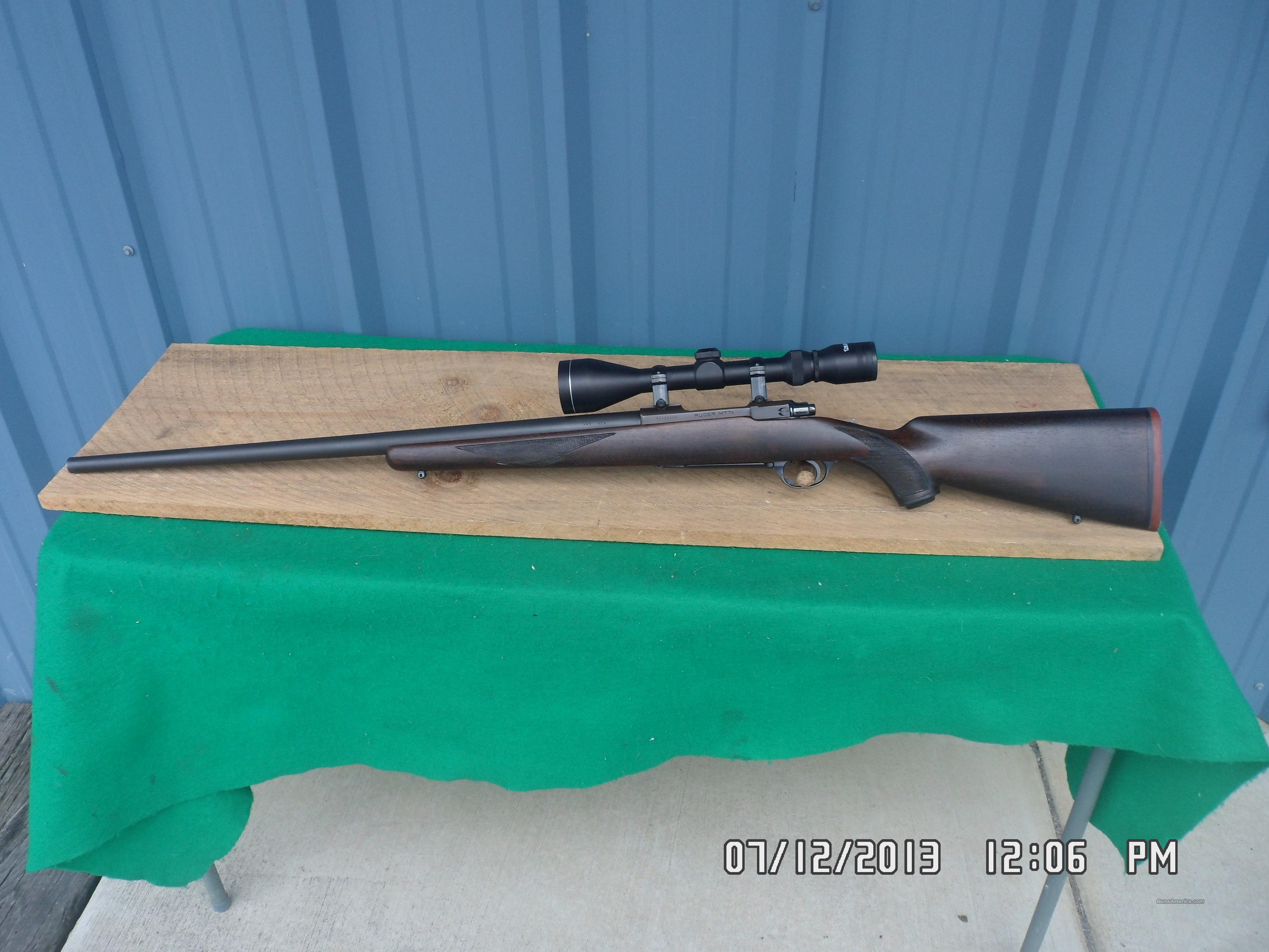RUGER 77,1984 CUSTOM HEAVY VARMIT RIFLE,243 WIN. SCOPED,ALL EXCELLENT CONDITION.  Guns > Rifles > Ruger Rifles > Model 77