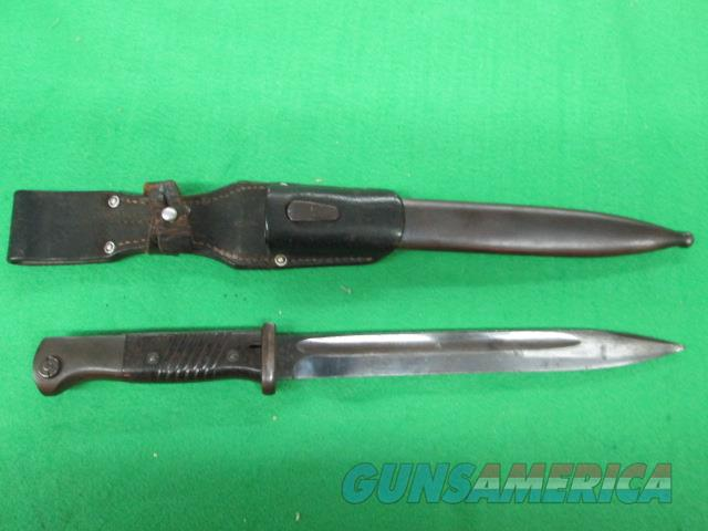 WWII GERMAN BAYONET MATCHING NUMBER 41 ASW NAZI   Non-Guns > Knives/Swords > Military > Bayonets