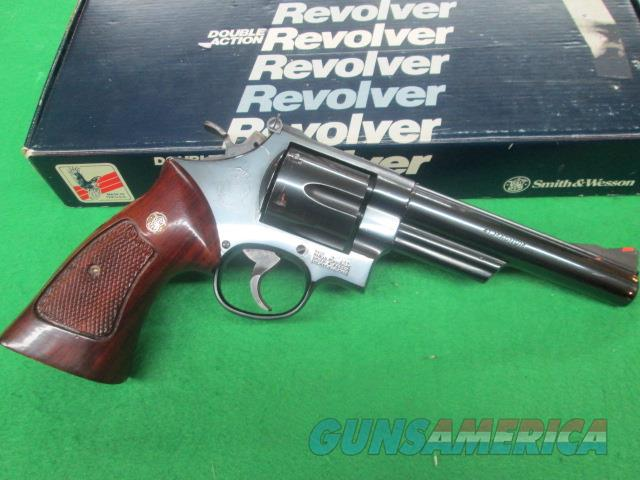 SMITH & WESSON MODEL 57 -1 IN 41 MAGNUM   Guns > Pistols > Smith & Wesson Revolvers > Full Frame Revolver