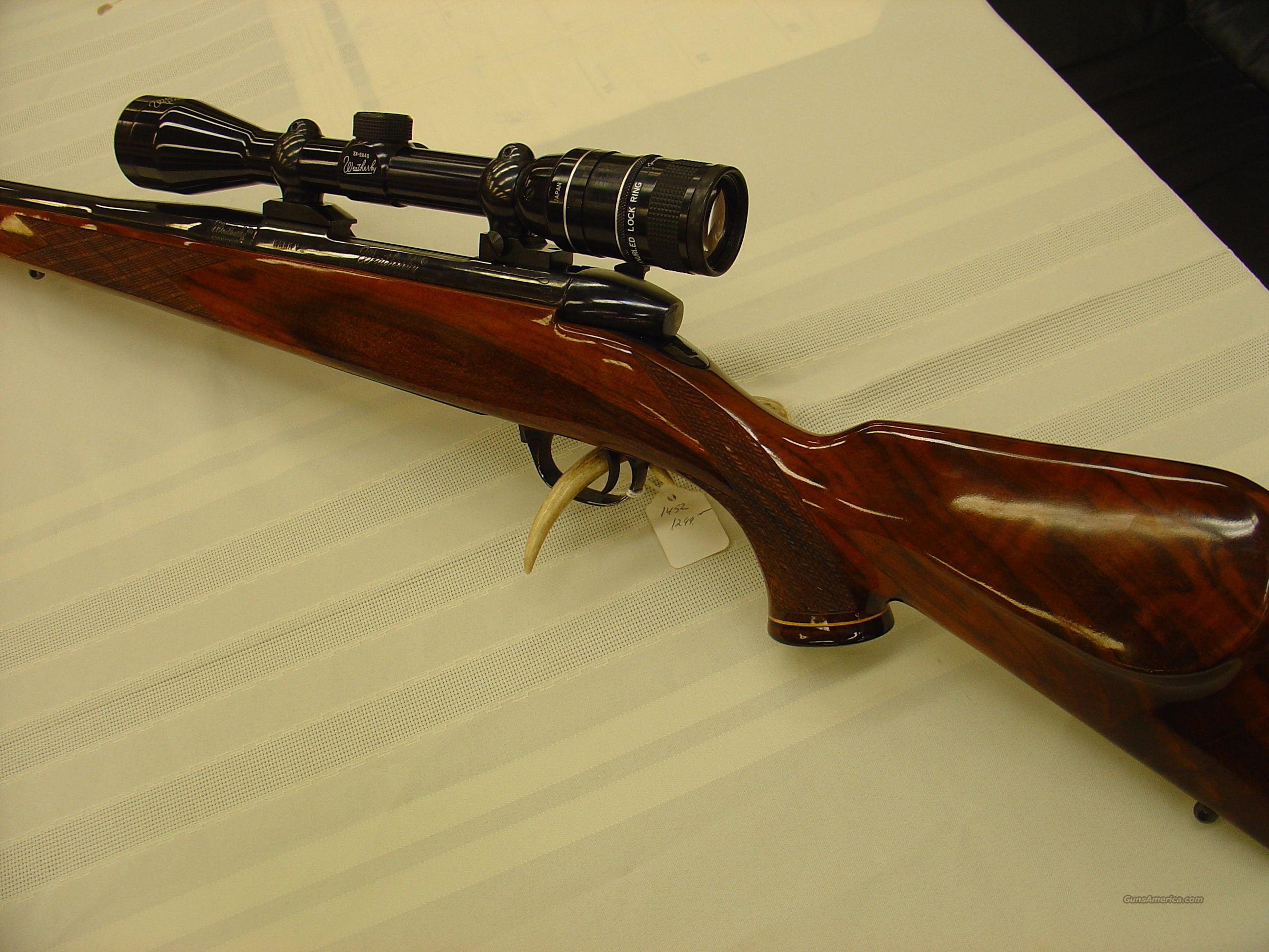 Weatherby  Guns > Rifles > Weatherby Rifles > Sporting