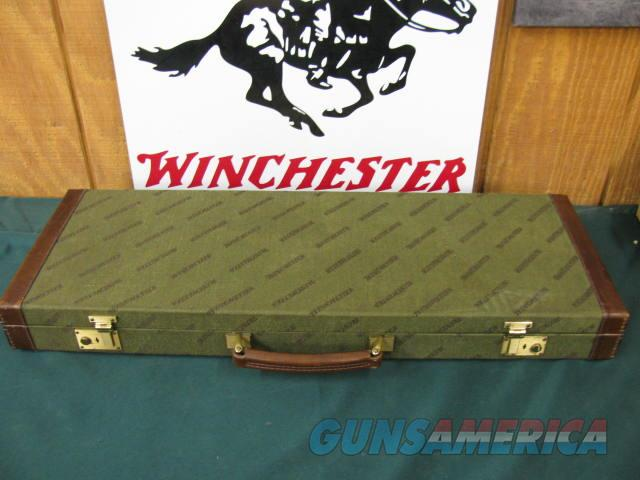 6333 Winchester 101 or 23 case, will take 26 inch barrels, leather trim with keys, 98-99%  Non-Guns > Gun Cases