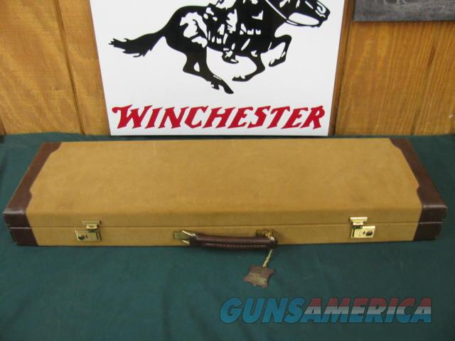 6086 Winchester Model 23 Golden Quail 410 gauge, 26 barrels, ic/m, straight grip, win pad, all original, coin silver quail/dogs,game scene engraved coin silver receiver, auto ejector, single select trigger,all original in Correct Winchester  Guns > Shotguns > Winchester Shotguns - Modern > SxS