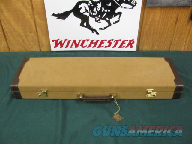 6849 Winchester 23 Golden Quail 28 gaue 26 barrels, ic/mod, single select trigger, ejectors, solid rib,STRAIGHT GRIP, Winchester pad,Winchester case& Pamphlet,GOLD RAISED RELIEF QUAIL HEAD ENGRAVED BOTTOM OF RECEIVER...UNFIRED NEW IN CASE,   Guns > Shotguns > Winchester Shotguns - Modern > SxS