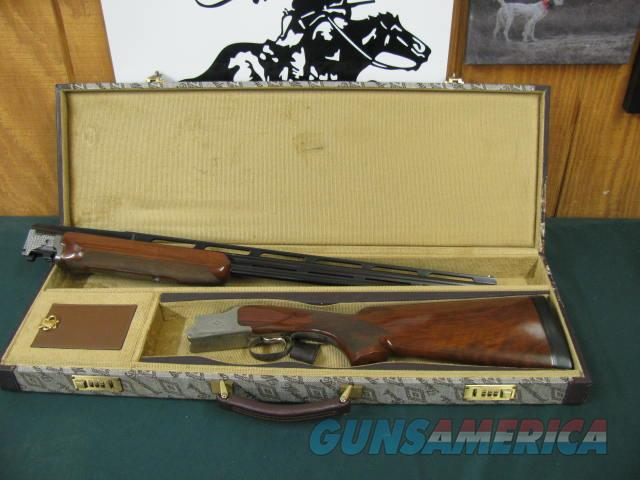 6112 Winchester 101 Diamond Grade 410 gauge 28 inch barrels sk/sk 2 1/2 inch chambers, can be bored to 3 inch, 100% Diamond engraved coin silver receiver. 98-99% condition, excellent bird or clays gun, opens and closes tite, bores are brite  Guns > Shotguns > Winchester Shotguns - Modern > O/U > Hunting