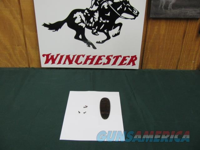 5184 Winchester model 23 WOOD BUTT PLATE 20GA NEW OLD STOCK  Non-Guns > Gunstocks, Grips & Wood