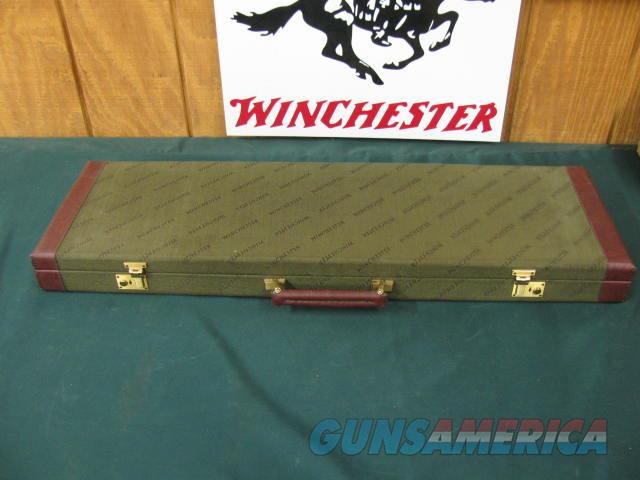 6331 Winchester 101 or 23 case, will take 32 inch barrels has the keys, leather trim  as new. hard to get in this length. as new  Non-Guns > Gun Cases