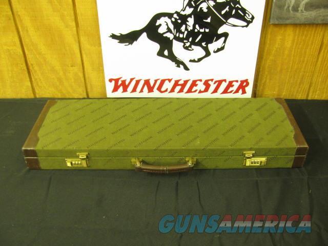 6663 Winchester 101 QUAIL SPECIAL 12 gauge 26 barrels 6 Winchester chokes, ic 2m 2f xf,wrench, hang tag, papers, Winchester Quail special case,all original, Straight Grip, ejectors, vent rib, quail/pheasants engraved coin silver receiver, A  Guns > Shotguns > Winchester Shotguns - Modern > O/U > Hunting