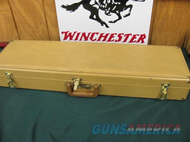6211 Winchester 101 Pigeon XTR 12 gauge 28 inch barrels ic mod full, rose/scroll engraved coin silver receiver Winchester butt pad, all original,vent rib ejectors screw in chokes AA FANCY WALNUT,98% condition, correct Winchester case and pa  Guns > Shotguns > Winchester Shotguns - Modern > O/U > Hunting
