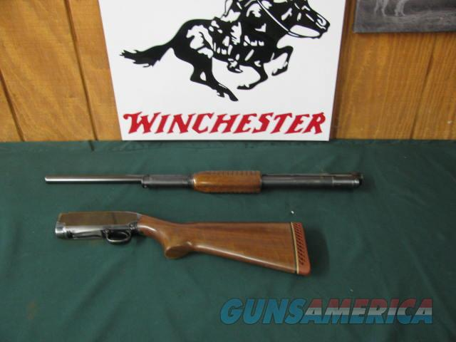 6682 Winchester model 12 16 gauge 28 inch barrels full choke. Pachmayr pad lop 13 1/4, bore brite shiny, action is tite, bore is brite shiny, s/n 143324x very good condition  Guns > Shotguns > Winchester Shotguns - Modern > Pump Action > Hunting