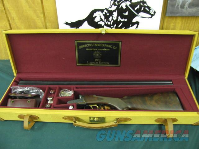 6202 CSM RBL 20 gauge 28 inch barrels 2 3/4 chambers,double trigger,ejectors, splinter forend, pistol grip, case colored receiver,Exhibition Walnut,correct case, silver oiler snap caps glasses, all complete, NEW IN CASE.  Guns > Shotguns > Connecticut (Galazan) Shotguns