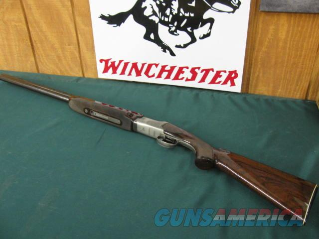 6306 Winchester 101 Pigeon 20 gauge 27 inch barrels 2 3/4 chambers, skeet/skeet, ejectors, vent rib, pistol grip, Winchester butt plate, all original 1969-1974, one of the great early ones with AA++dark walnutstock/forend,diamond tipped too  Guns > Shotguns > Winchester Shotguns - Modern > O/U > Trap/Skeet