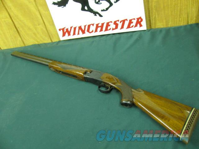 6150 Winchester 101 field skeet 20 gauge 26inch barrels, skeet/skeet 2 3/4 & 3 inch chambers, vent rib, pistol grip, ejectors, LOP 13 with Pacmyer pad.wood is 96-97% condition, opens and closes tite, bores brite and shiny,blue is 98 %.  Guns > Shotguns > Winchester Shotguns - Modern > O/U > Hunting