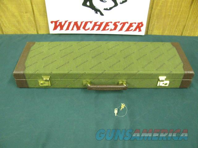 6792 Winchester 101 or 23 case, NEW OLD STOCK WITH KEYS, NEVER A GUN IN IT. will take 26  inch barrels.  Non-Guns > Gun Cases